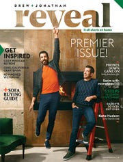 Drew and Jonathan Scott's new magazine, Reveal, is out now.