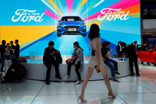 Ford Motor Co. reported Monday that sales in China fell 26% in 2019 as the company pushed to freshen an aging lineup with new vehicles catered toward Chinese buyers.