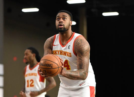 Michigan State product Nick Ward played briefly overseas in Israel and Turkey before landing a role with the College Park Skyhawks of the NBA G League.