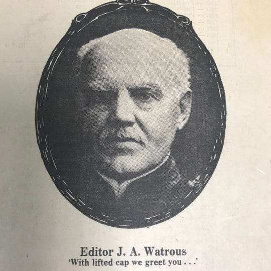 Editor Jerome A. Watrous, then just 29 and a Civil war veteran, and a partner editor T.F. Reid, started the Fond du Lac daily in 1870, and later changed the name to the Fond du Lac Commonwealth.