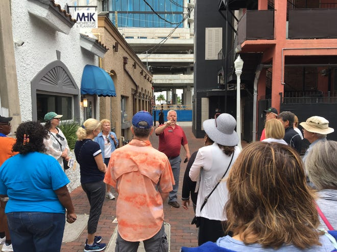 New trolley tours include a walking tour of downtown Fort Myers,  lunch at a local restaurant, 30 minutes of shopping at the Franklin Shops, tour and dessert at Historic Hibiscus House and  a tour of and samples from a local distillery.