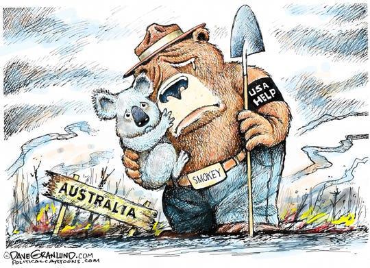 Australia's wildfires.