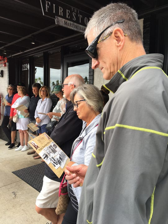 Some True Tours programs are 90-minute walking tours leaving from the Franklin Shops, while others begin and end at a local community and include transportation to downtown Fort Myers and back by trolley.