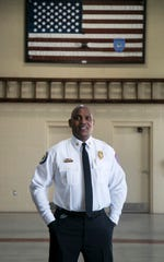 Tracy McMillion, 45, took over as fire chief for the City of Fort Myers in December 2019.