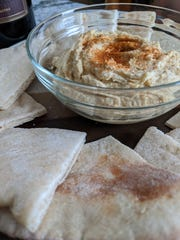 Hummus and pita are relatively easy to make and always taste great.
