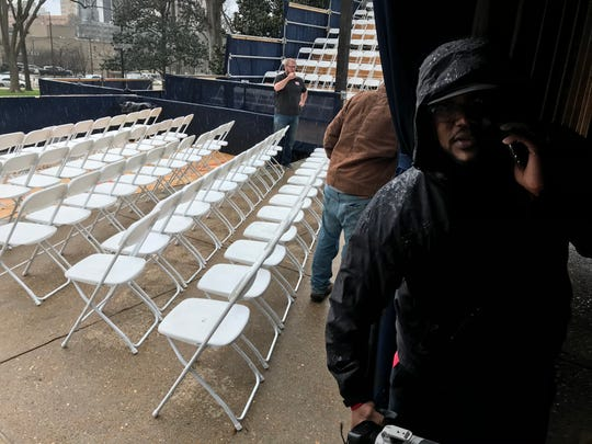 Final preparations are underway for the Tuesday inauguration of Lt. Gov. Tate Reeves as governor of Mississippi at the Capitol building in Jackson.