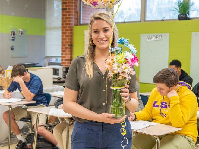 Lafayette Parish high school teacher of the year Pamela Sorensson teaches English at Carencro High.