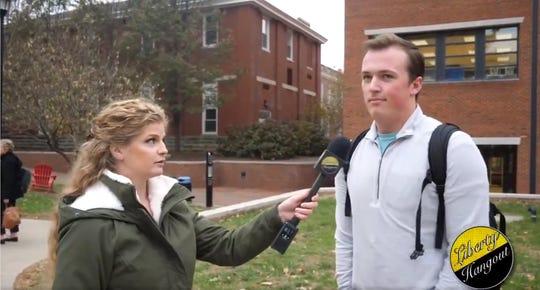 Kaitlin Bennett interviews Michael Hawse.