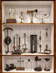 Various historic medical and scientific instruments at the Monroe Moosnick Museum at Transylvania University in Lexington. Jan. 6, 2020