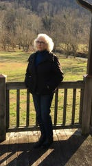 Mary Lou Muncy on her 170-acre farm in Madison and Estill counties