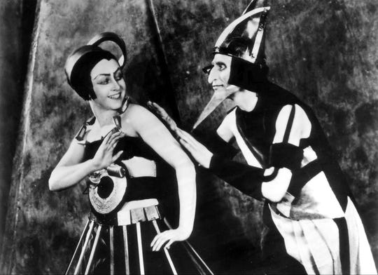 """The 1924 Russian science fiction film """"Aelita: Queen of Mars"""" screens Thursday at the Crosstown Theater, with live musical accompaniment by Alex Greene & the Rolling Head Orchestra."""