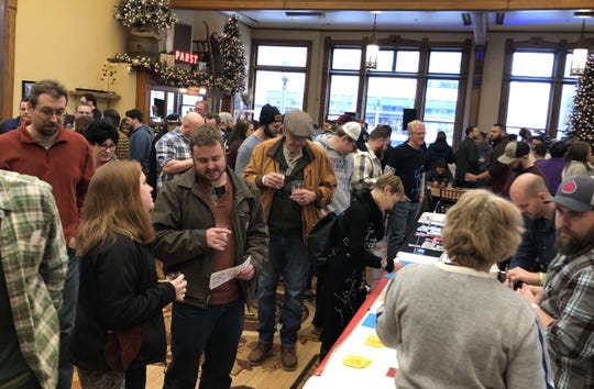 What will you be drinking in 2020. The Winter Whales Rare Beer Fest at Best Place at the Historic Pabst Brewery seemed like a good time to ask.
