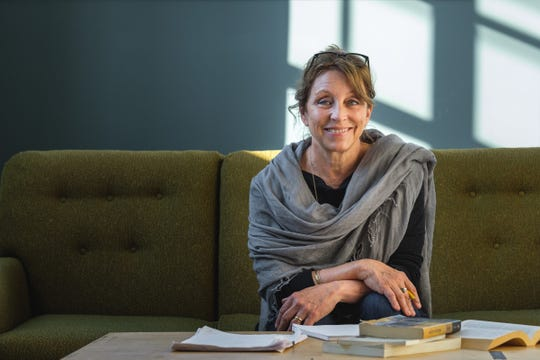 "Marie Kohler directs Renaissance Theaterworks' production of Samuel Beckett's ""Happy Days."""