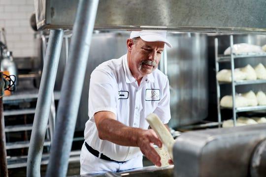 Steve Stettler of Decatur Dairy has been a cheesemaker since 1974.
