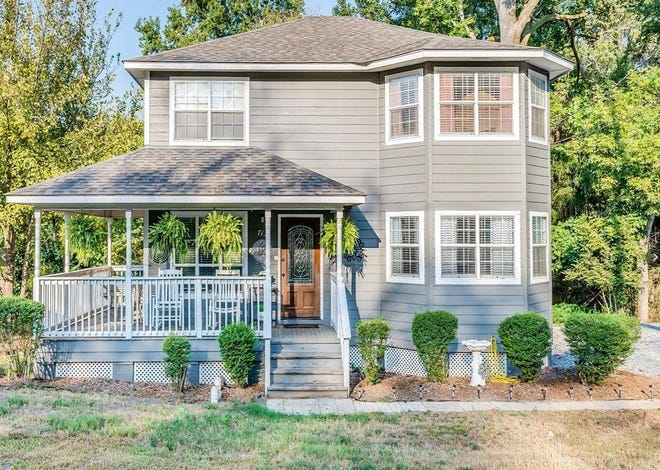 One home near downtown Prattville on North Court Street is for sale for $144,900, and includes three bedrooms and two and a half bathrooms within 1,680 square feet of living space.