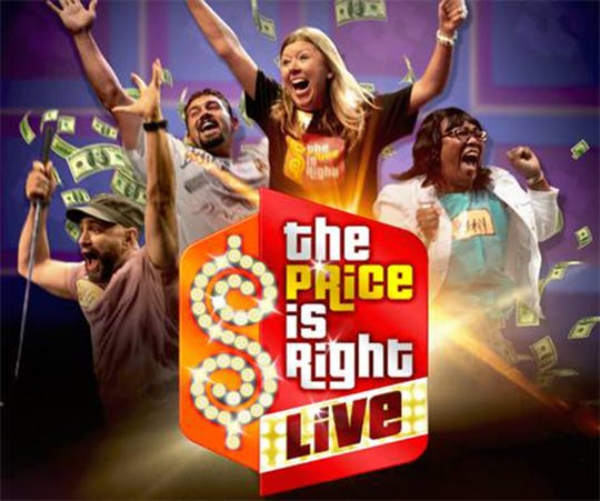 The Price is Right Live! returns to the Montgomery Performing Arts Centre on April 1. Tickets go on sale Friday, Jan. 27.