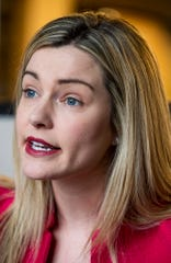 Jessica Taylor, candidate for the 2nd congressional district in Alabama, is shown in Montgomery, Ala., on Monday January 13, 2020.