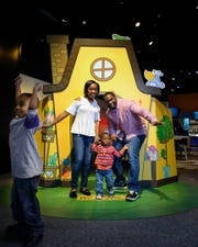 """The interactive exhibit """"Animationland"""" will be on view at Minnetrista Jan. 25–May 3."""