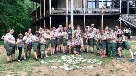 BSA Troop 2019 was among the first all-girl units to attend summer camp at Boxwell Scout Reservation, near Lebanon. Boxwell has been a destination for scouts for nearly 100 years.