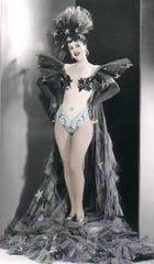 Vintage photo of Gypsy Rose Lee.