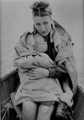 Gypsy Rose Lee with her son, Erik Preminger.