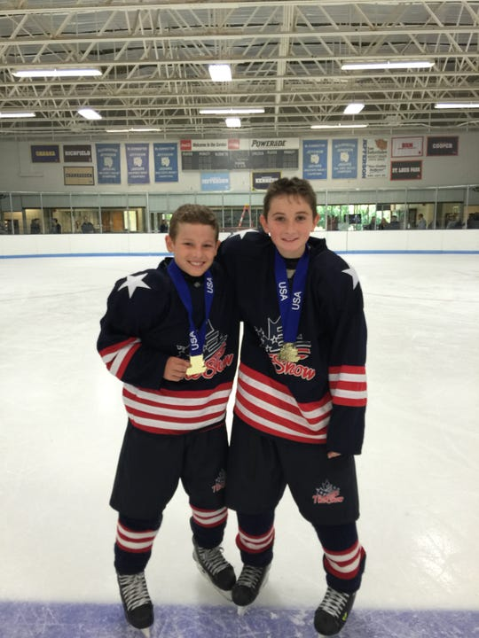 Estero residents Gavin Brindley, 15, and Seamus Casey, 16, are representing Team USA at the upcoming Youth Olympic Games in Lausanne, Switzerland. The hockey players are two of just three athletes total competing for Florida at the Youth Olympic Games. The other is an alpine skiier from Shalimar.