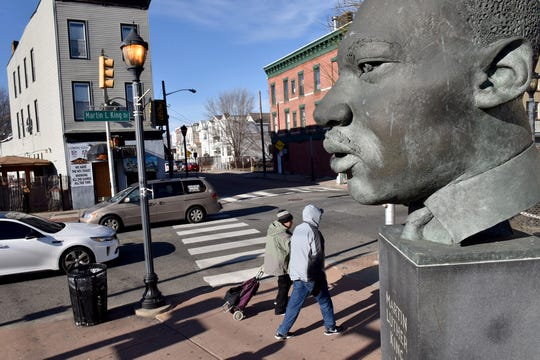 Martin Luther King Jr. in Jersey City