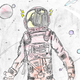 This original illustration by seventh grade Vista Middle School student Josswe Duarte, has been selected as the official poster image for the 2020 Las Cruces Space Festival.