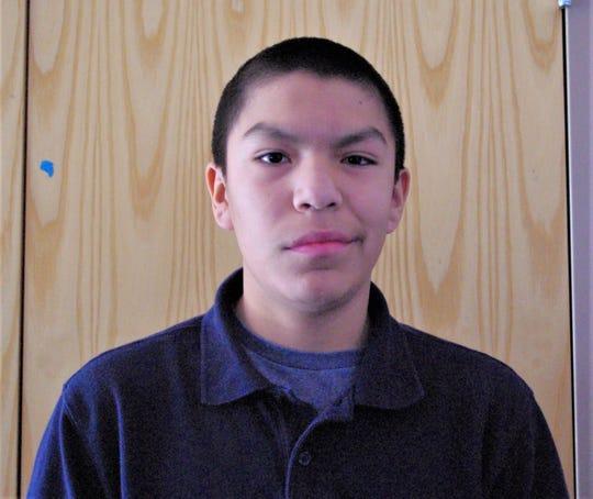 Jaxon Morgan is a 7th grade student at Ruidoso Middle School.