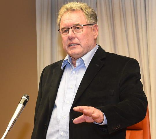 Newly appointed Mayor Dwight Landreneau
