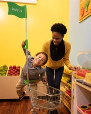 The Publix Super Markets Exhibit opened at the Pensacola Children's Museum in December at 115 E. Zaragoza St.
