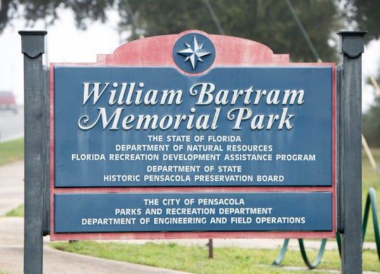 William Bartram Memorial Park is located near Pensacola Bay at 211 E. Main St.