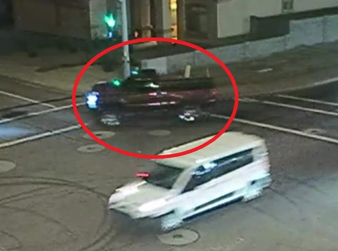 Police are looking for a driver involved in a hit and run at Glendale Avenue and 49th Avenue on Saturday, January 1, 2019.
