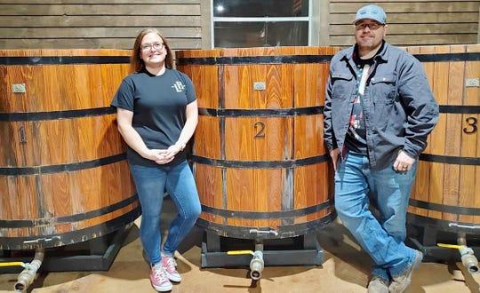 Tara and Aaron Lake are opening Lake House Distilling Co. at Fifth Street and Hamilton Avenue in Waynesboro.