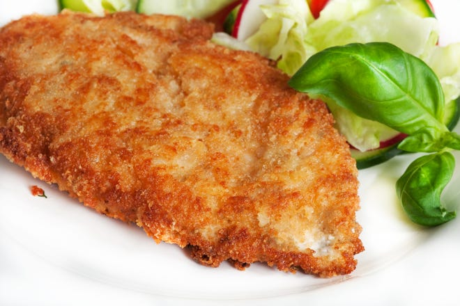 Wegmans is recalling its brand of fully cooked and frozen Breaded Chicken Breast Fillets, sold in 20-ounce bags, because some of the chicken may be undercooked.