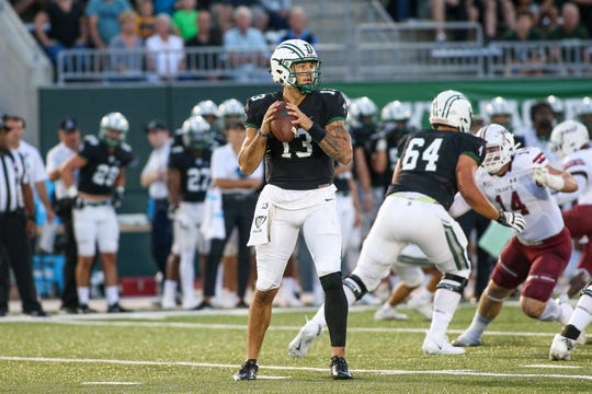 After playing quarterback at Dartmouth, former Rush-Henrietta standout Jared Gerbino is trying to get a look in pro football as a tight end.