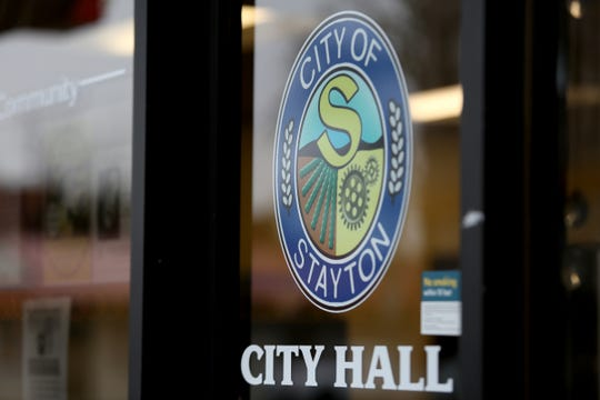 City Hall is on Third Street in downtown Stayton on Jan. 13, 2020. A proposal for an overlay district, intended to make the transition from First Street to Third Street more user friendly, was shot down by the Stayton city council.