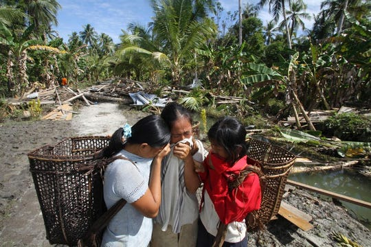 Tsunamis can take a terrible toll, as for this Indonesian family that lost their father and their home in the Mentawai disaster.