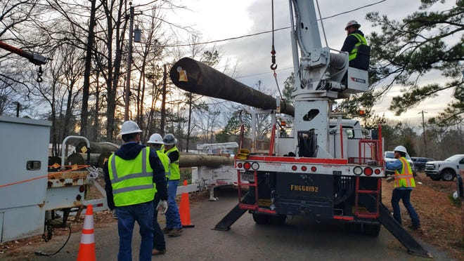 Bossier Parish Cleanup Following Tornado Deadly Storm