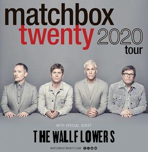 Matchbox Twenty tour logo