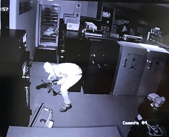 Guns stolen from St. Lucie Shooting Center
