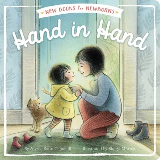 Hand in Hand by Alyssa Satin Capucilli