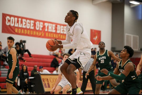 Justin Ebor is a key player for a powerful Oak Park team.