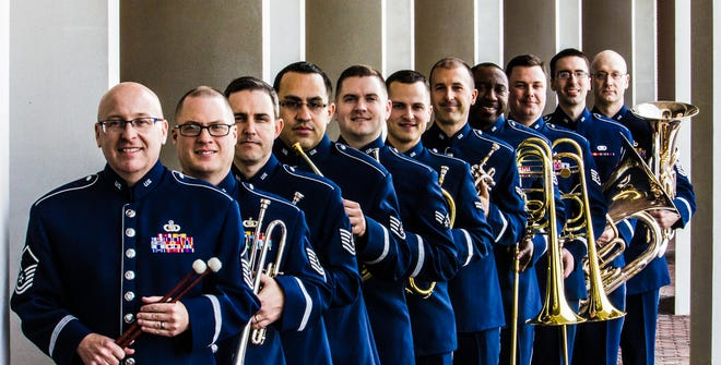 Main Street Vineland will present a performance by theUnited States Air Force Heritage of AmericaBand's Heritage Brass at 3 p.m. March 14 at the Landis Theater in Vineland.