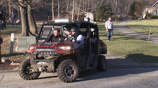 Police responded to Harriman State Park in Suffern on Jan. 12, 2020, when a body was found in the woods.