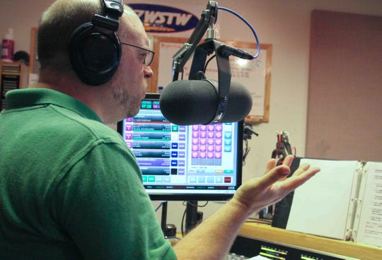 "Mark Rogers hosts WSTW 93.7-FM's  ""Hometown Heroes"" in 2011. The host announced the 21-year-old show's cancellation over the weekend. The program featured local musicians from Delaware and the surrounding region."