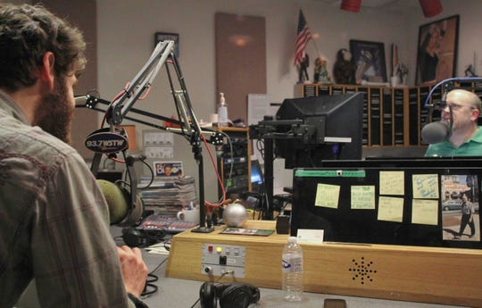 """Mark Rogers hosts WSTW 93.7-FM's """"Hometown Heroes"""" in 2011 with guests Mad Sweet Pangs. The host announced the 21-year-old show's cancellation over the weekend."""