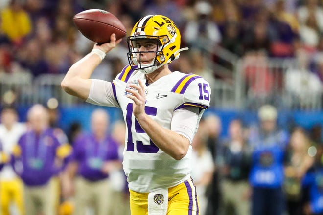 Myles Brennan could be the replacement for Heisman Trophy winner Joe Burrow at LSU next season.