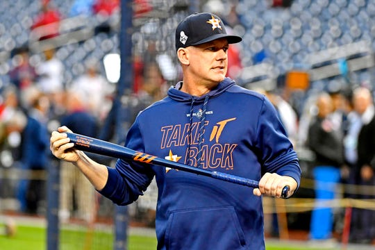 MLB has suspended Astros manager A.J. Hinch for his role in stealing signs.