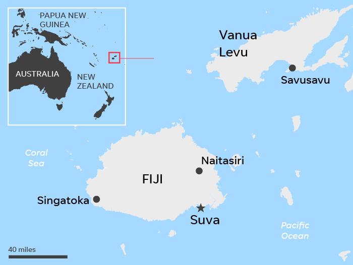 Fiji Cruises Canceled As Country Braces